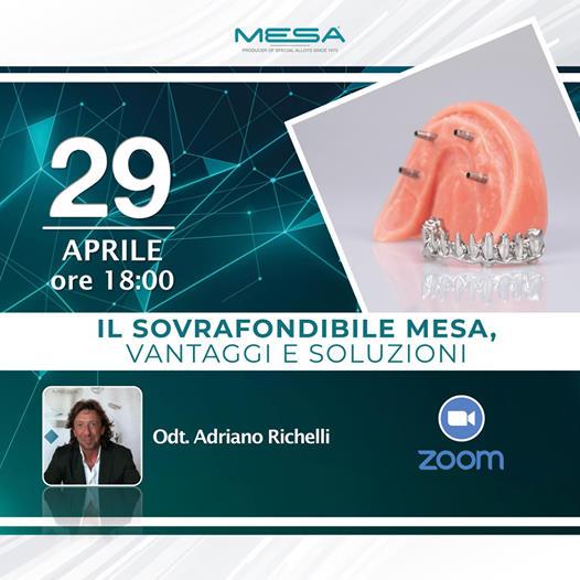 """Webinar 29.04.21: """"Il Sovrafondibile Mesa, Vantaggi e Soluzioni"""""""